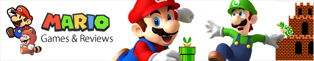 Read the latest Mario game reviews, news, pictures and videos. Join Nintendo's most famous mascot Mario and Super Mario Bros in over 200 video games over two decades. Since his early platforming days in the 80s, Mario has featured in many other titles, including <em>Super Mario Bros</em>, the <em>Mario Kart</em> racing series, Mario sports games like <em>Mario Strikers</em> and <em>Mario Tennis</em> and even dabbled in role-playing games such as <em>Paper Mario</em> and <em>Super Mario RPG</em>. His biggest adventures have seen Mario take a leap into space and beyond with the crticially aclaimed Wii game <em>Super Mario Galaxy</em>. You are sure to find a game to enjoy on any of Nintendo's consoles, including Mario games for Wii, DS, 3DS and classic platforms like the SNES, NES and GameBoy.<br/><img src='/images/games/super-mario-nintendo-games-and-reviews2.jpg' alt='Mario Nintendo games and reviews' />