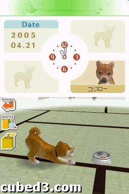 Screenshot for Nintendogs on Nintendo DS- on Nintendo Wii U, 3DS games review