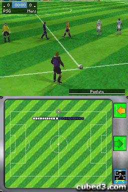 Screenshot for FIFA 06 on Nintendo DS - on Nintendo Wii U, 3DS games review