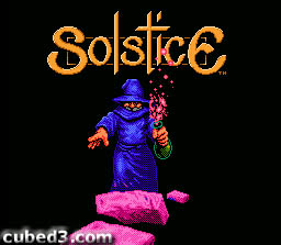 Screenshot for Solstice on NES