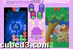 Screenshot for Puyo Pop Fever on Game Boy Advance