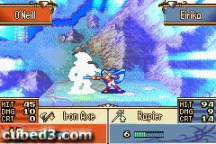 Screenshot for Fire Emblem: The Sacred Stones on Game Boy Advance - on Nintendo Wii U, 3DS games review