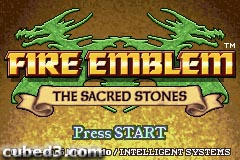 Screenshot for Fire Emblem: The Sacred Stones on Game Boy Advance- on Nintendo Wii U, 3DS games review