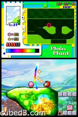 Screenshot for Kirby: Power Paintbrush on Nintendo DS - on Nintendo Wii U, 3DS games review