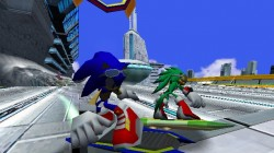 Screenshot for Sonic Riders on GameCube - on Nintendo Wii U, 3DS games review