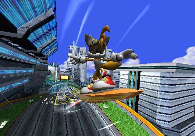 Screenshot for Sonic Riders on GameCube- on Nintendo Wii U, 3DS games review