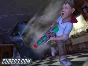 Screenshot for Monster House on GameCube