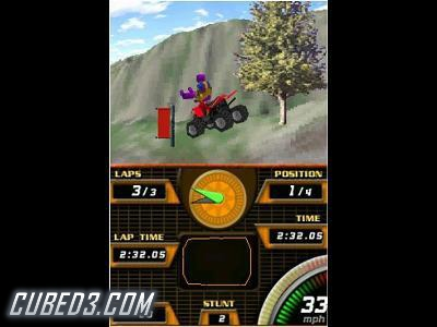 Screenshot for ATV Quad Frenzy on Nintendo DS