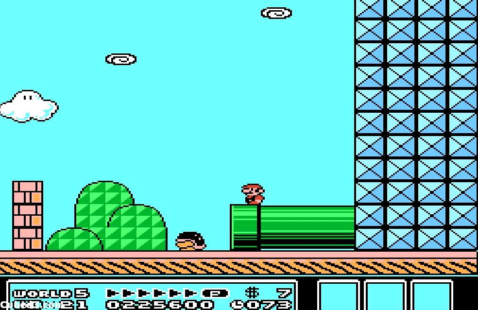 Super Mario Bros 3 Nes Screens And Art Gallery Cubed3
