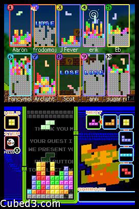 Screenshot for Tetris DS on Nintendo DS