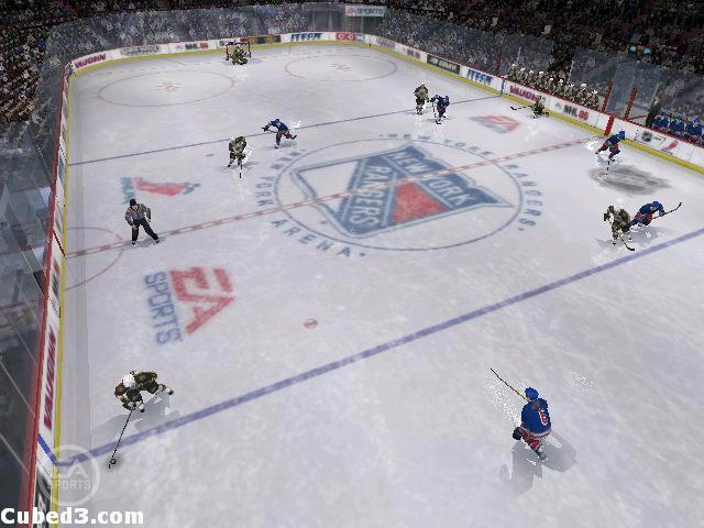 Screenshot for NHL 06 on GameCube