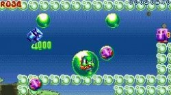 Screenshot for Bubble Bobble Revolution - click to enlarge