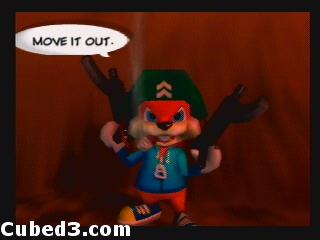 Screenshot for Conker's Bad Fur Day on Nintendo 64 - on Nintendo Wii U, 3DS games review
