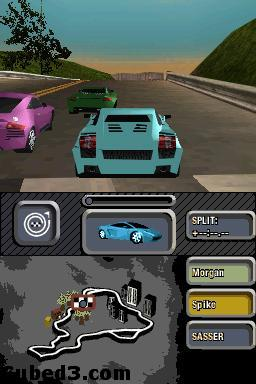 Screenshot for Need For Speed: Most Wanted on Nintendo DS - on Nintendo Wii U, 3DS games review