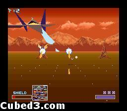 Screenshot for Starwing on Super Nintendo