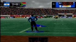 Screenshot for International Superstar Soccer &#39;98 - click to enlarge