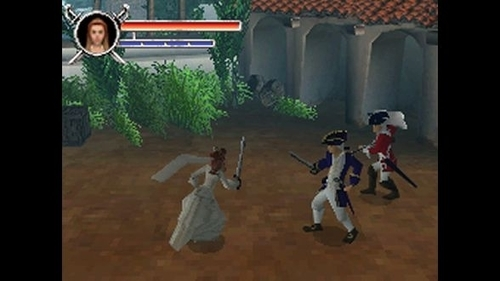Screenshot for Pirates of the Caribbean: Dead Man's Chest on Nintendo DS