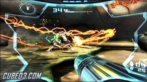 Screenshot for Metroid Prime 3: Corruption (Hands On) on Wii