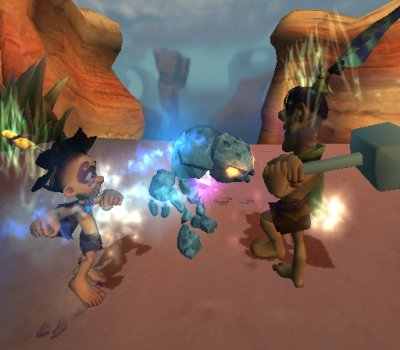 Screenshot for Tak: The Great Juju Challenge on GameCube - on Nintendo Wii U, 3DS games review