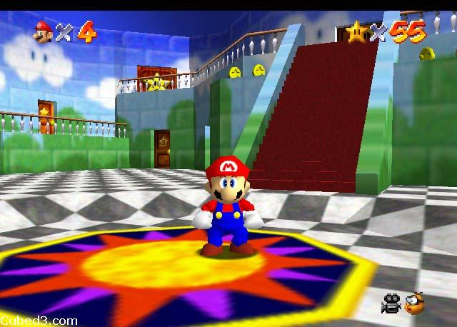 Screenshot for Super Mario 64 on Nintendo 64 - on Nintendo Wii U, 3DS games review