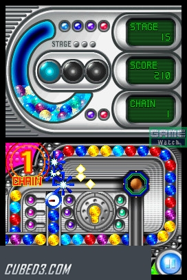 Screenshot for Magnetica on Nintendo DS