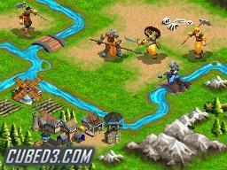 Screenshot for Age of Empires: The Age of Kings on Nintendo DS