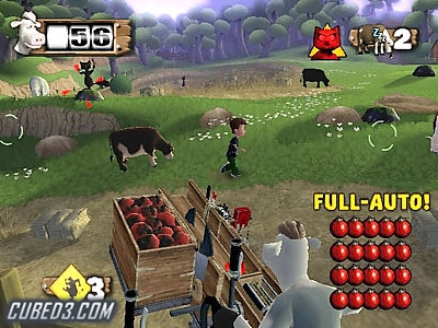Screenshot for Barnyard on GameCube- on Nintendo Wii U, 3DS games review