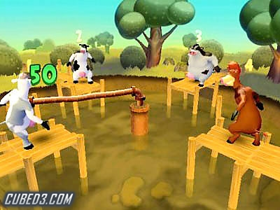 Screenshot for Barnyard on GameCube - on Nintendo Wii U, 3DS games review