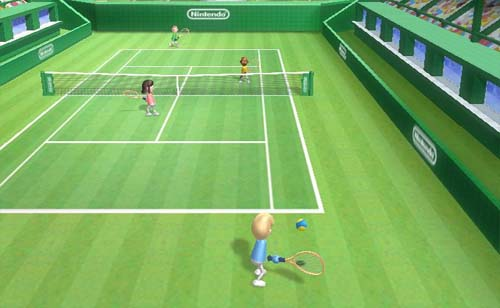 Screenshot for Wii Sports (Hands On) on Wii