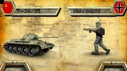 Screenshot for Panzer Tactics DS (Hands-On) - click to enlarge