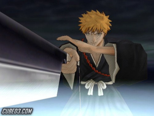 Screenshot for Bleach: Shattered Blade on Wii - on Nintendo Wii U, 3DS games review