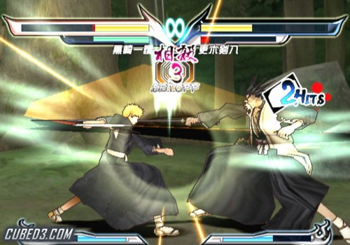 Screenshot for Bleach: Shattered Blade on Wii