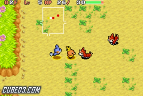 pokemon mystery dungeon red rescue team ds