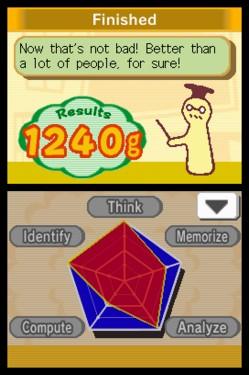 Screenshot for Big Brain Academy on Nintendo DS