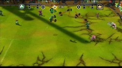Screenshot for Mario Strikers Charged (Hands On) - click to enlarge