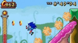 Screenshot for Sonic Rush Adventure - click to enlarge