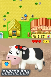 Screenshot for Harvest Moon DS on Nintendo DS - on Nintendo Wii U, 3DS games review