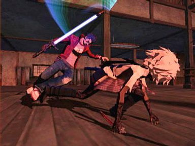 Screenshot for No More Heroes on Wii- on Nintendo Wii U, 3DS games review