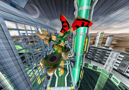 Screenshot for Sonic Riders: Zero Gravity on Wii - on Nintendo Wii U, 3DS games review