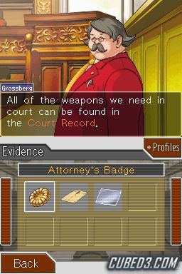 Screenshot for Phoenix Wright Ace Attorney: Trials & Tribulations on Nintendo DS