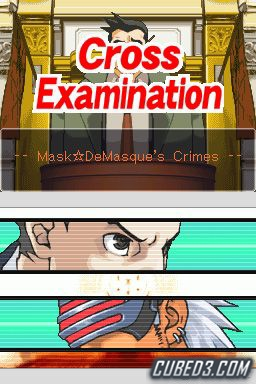 Screenshot for Phoenix Wright: Ace Attorney - Trials & Tribulations on Nintendo DS - on Nintendo Wii U, 3DS games review