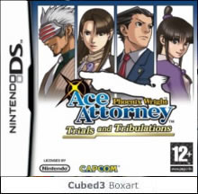 Box art for Phoenix Wright: Ace Attorney - Trials & Tribulations
