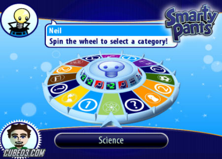 Screenshot for Smarty Pants on Wii - on Nintendo Wii U, 3DS games review