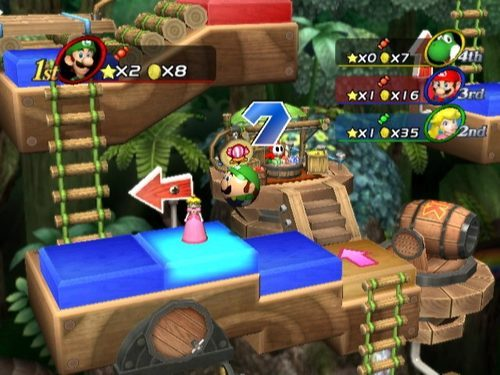 Screenshot for Mario Party 8 on Wii
