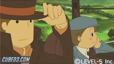 Screenshot for Professor Layton and the Curious Village on Nintendo DS - on Nintendo Wii U, 3DS games review