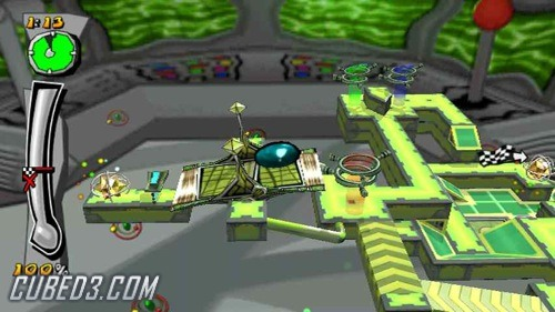 Screenshot for Mercury Meltdown Revolution on Wii - on Nintendo Wii U, 3DS games review