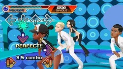 Screenshot for Dancing Stage: Hottest Party - click to enlarge