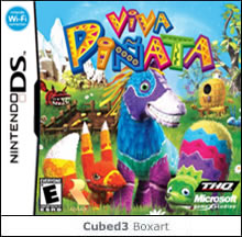 Box art for Viva Pinata: Pocket Paradise