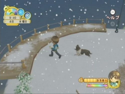 Screenshot for Harvest Moon: Tree of Tranquility on Wii - on Nintendo Wii U, 3DS games review