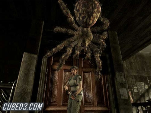 Screenshot for Resident Evil on GameCube